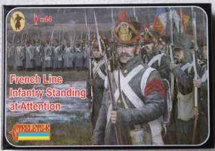 Strelets 1/72 ST0184 French Line Infantry Standing at Attention (Napoleonic)